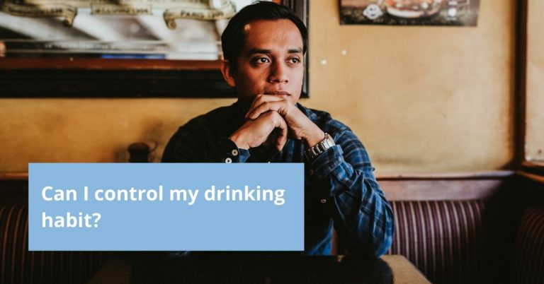 Can I control my drinking habit?