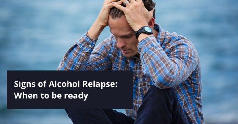 Signs of Alcohol Relapse